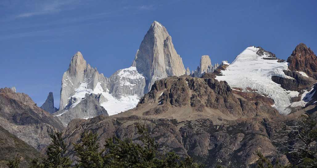 Monte Fitz Roy near El Chaltén village, in the Southern Patagonian Ice Field