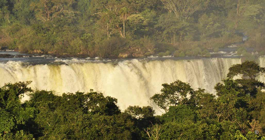 Evening light, Iguassu Falls