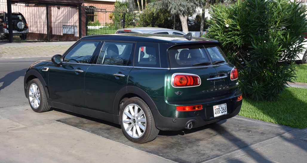 Atemporal Hotel Courtesy Mini Clubman
