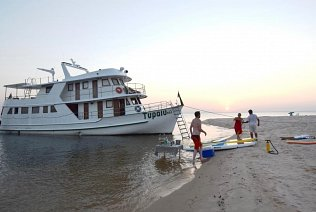 Brazil Amazon private yacht charter