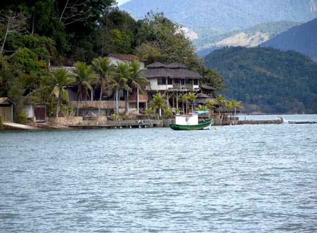 Outside the Bay of Paraty