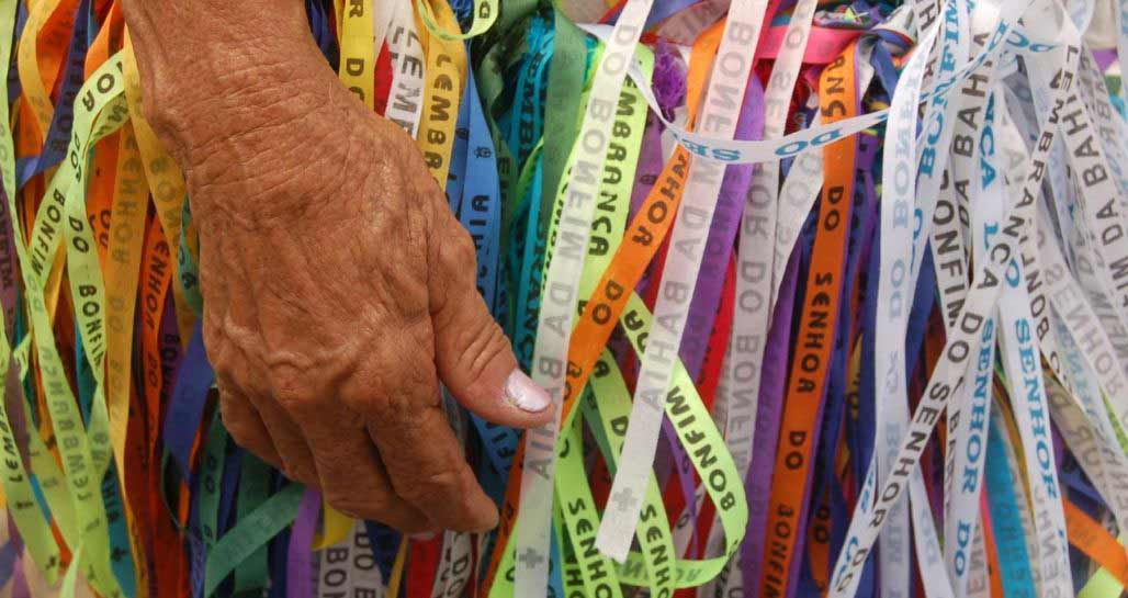 Ribbons from Festival of Senhor Do Bonfina