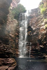 Waterfall in Chapada Diamantina