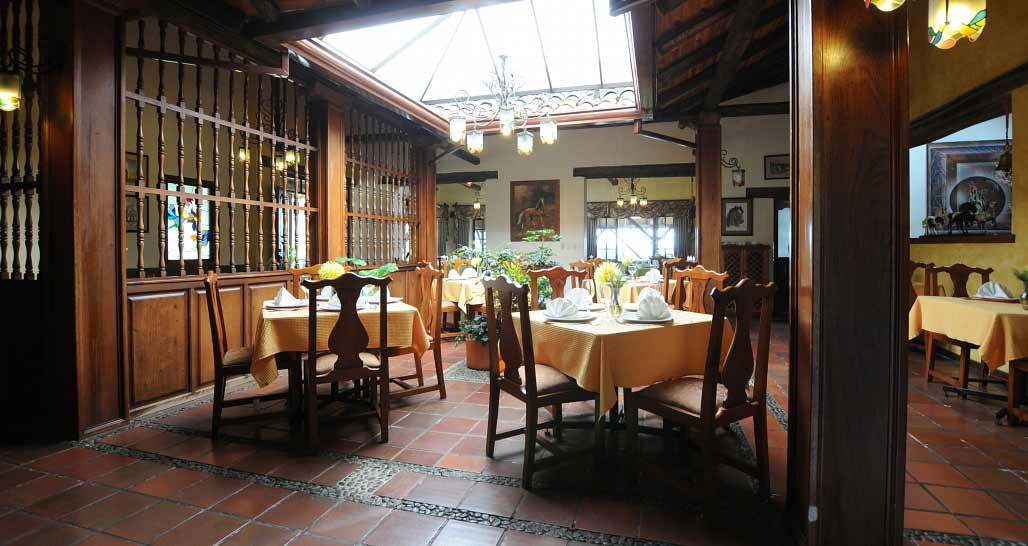 Caballo Campana - the dining room