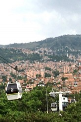 Cable Car, Medellin