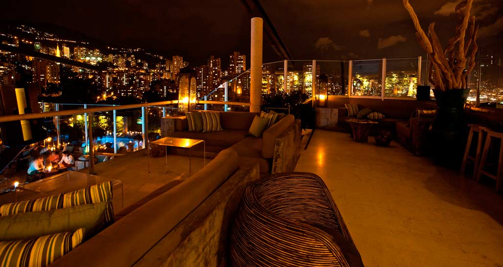 The Charlee, Medellin, roof bar
