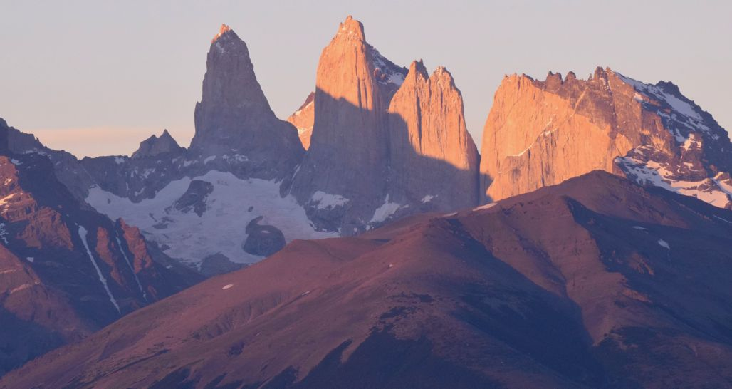 Torres del Paine at dawn, Patagonia, Chile