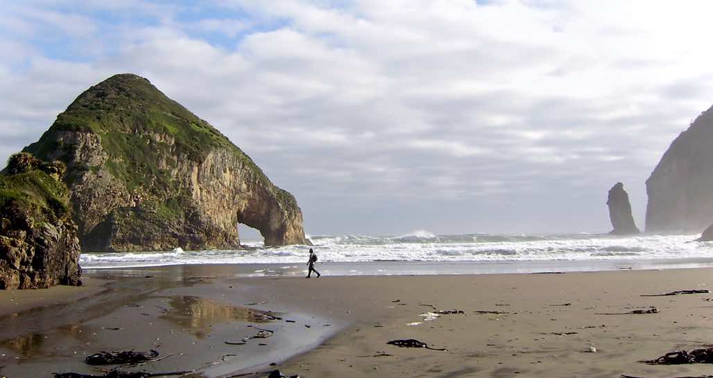 Chiloe Island - Pacific beach