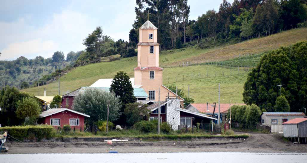 Chiloe Island - typical church