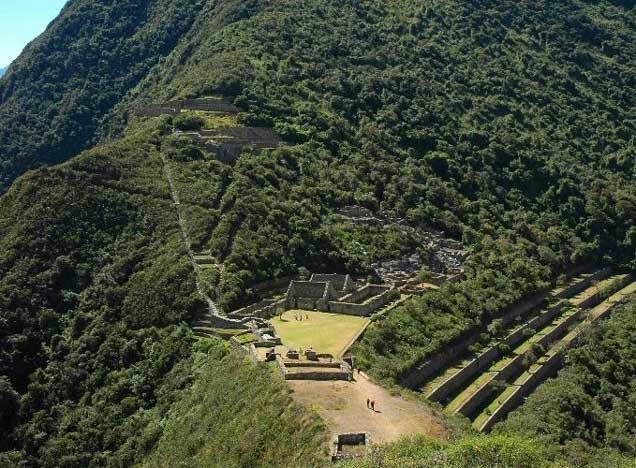 View of Coquequirao