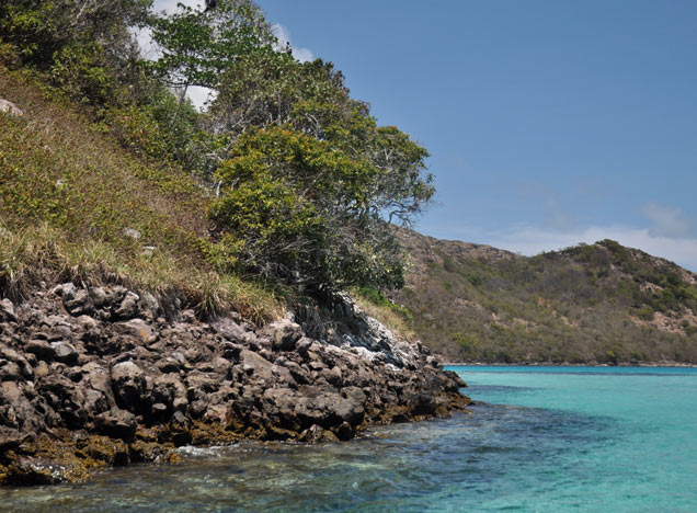 Old Providencia secluded bay