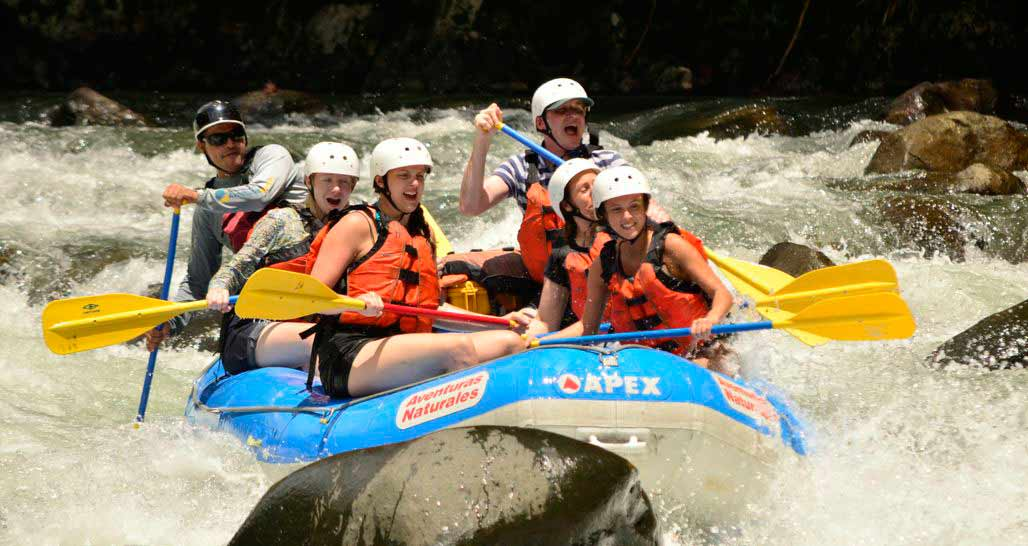 White Water Rafting, Pacuare River, Costa Rica