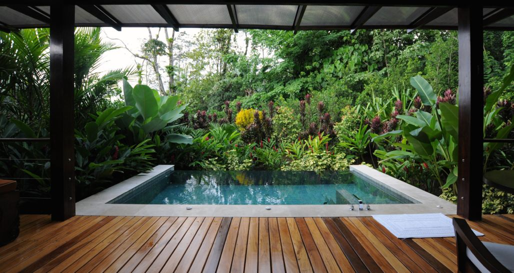 Nayara Springs and Spa and Garden - private plunge pool