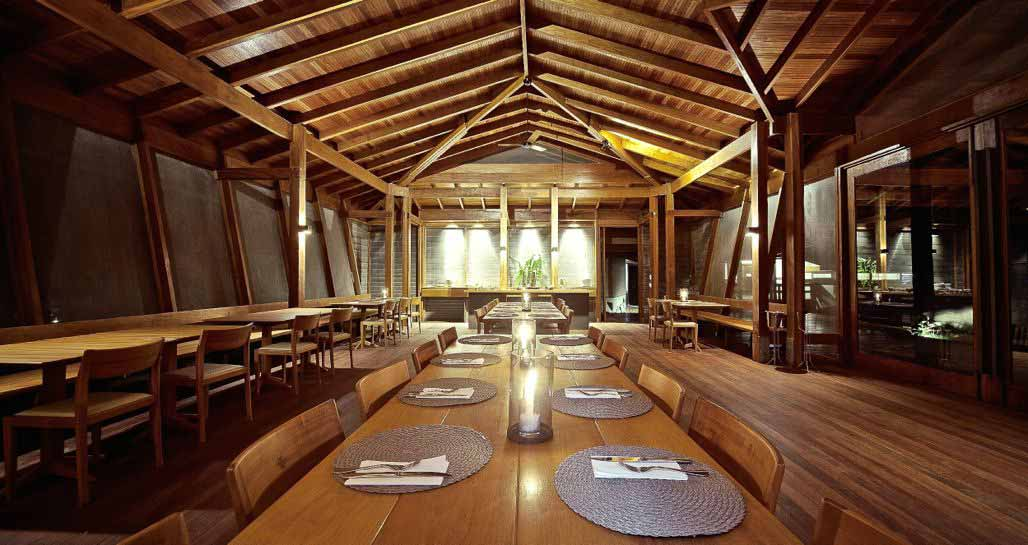 Cristalino Lodge - restaurant