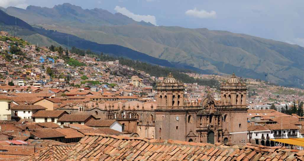 General view of Cusco