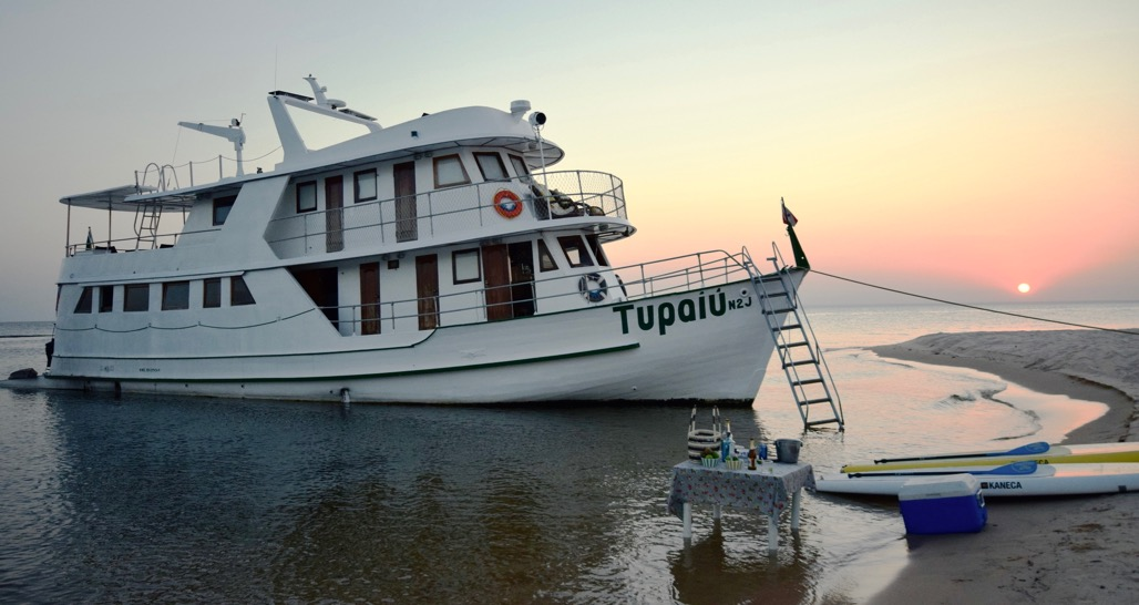 Amazon Tupaiù Yacht in the Tapajos River region