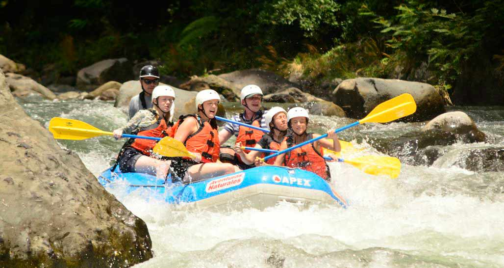 White Water Rafting, Pacuare