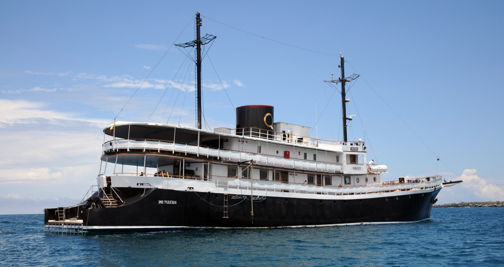 MV Evolution - a delightful mid-size vessel in Galapagos