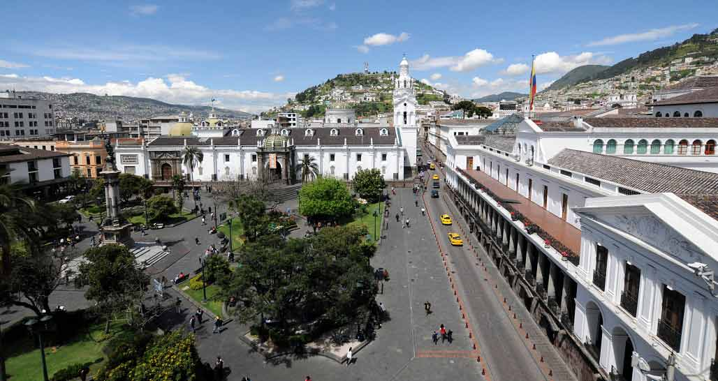 Ecuador: Quito, Plaza Grande and Cathedral