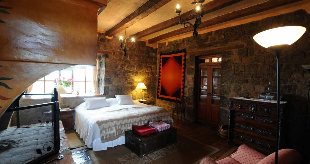 Hacienda San Agustin de Callo - double room