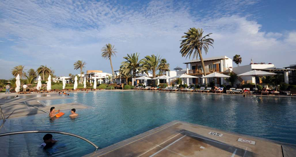 Hotel Paracas - second swimming pool
