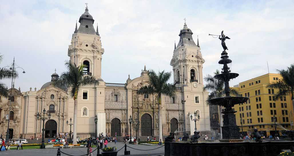 Cathedral, Old Town, Lima