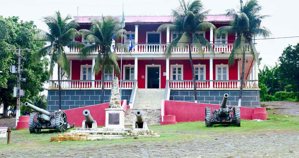 Vila Los Remedios Colonial Building