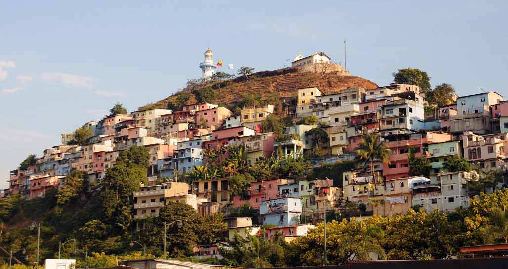 Guayaquil - the colourful Santa Ana district