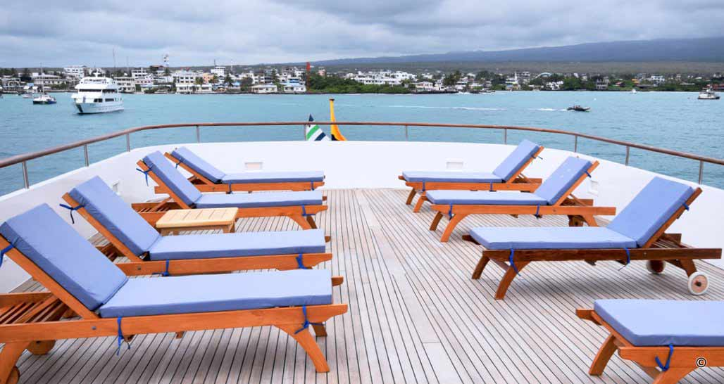 Sun deck/Outdoor Seating