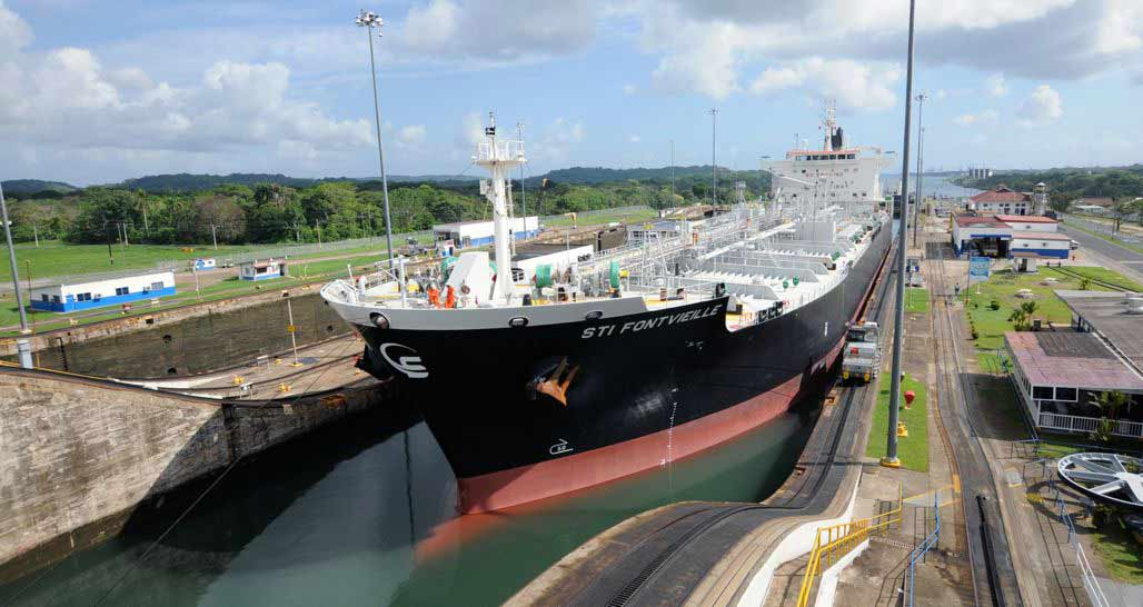 Canal Gatun Locks