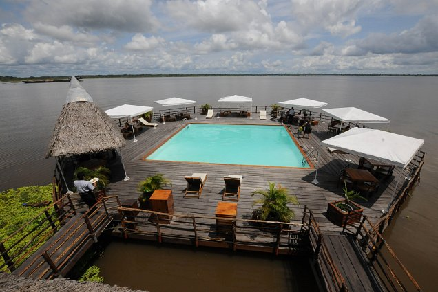 Fancy a dip in the Amazon?