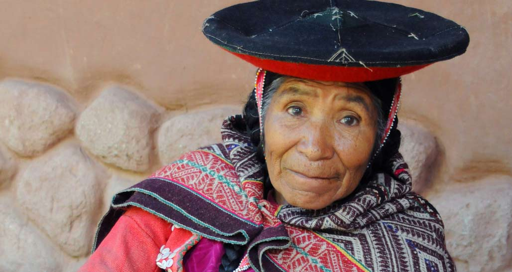 Local lady, Sacred Valley, Peru