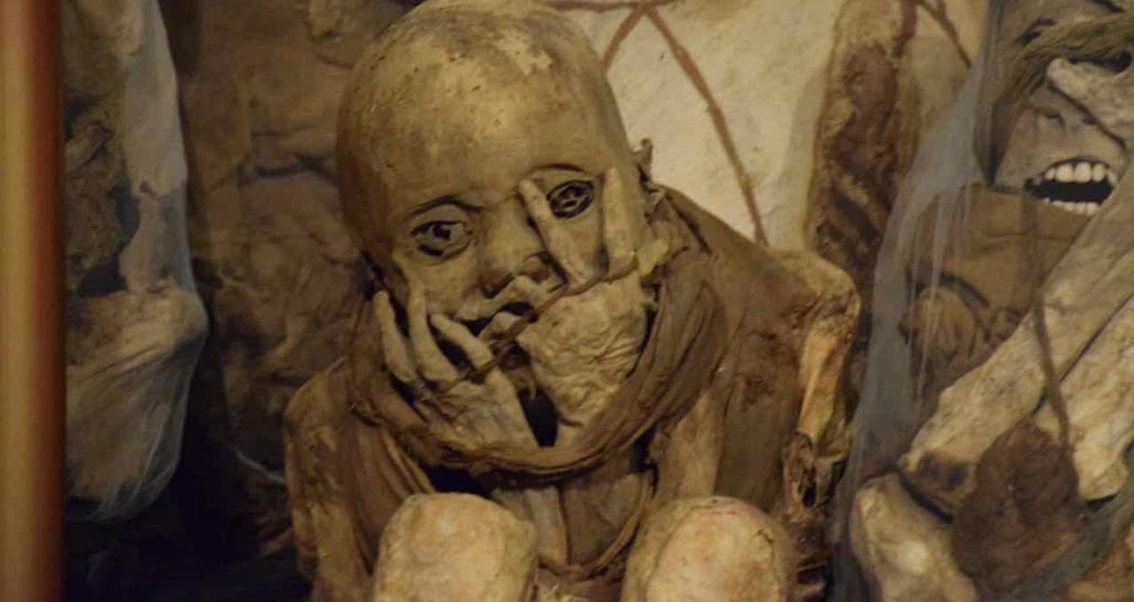 Mummy at Leymebamba museum