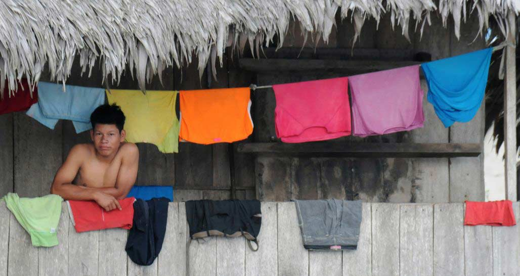 Hanging Clothes - Amazon River