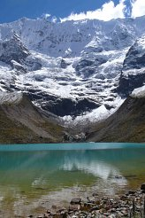 Scenery on trek to Machu Picchu