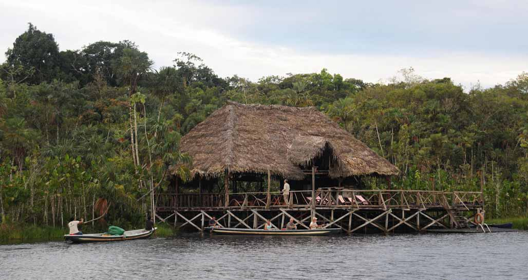 Sacha Lodge - 'La Balsa' on Pichicocha Lake