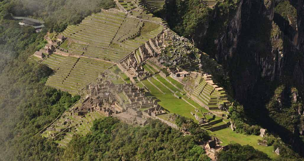 Machu Picchu - view from top of Wayna Picchu