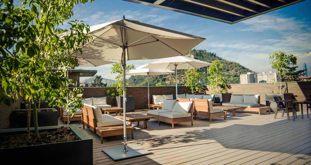 The Singular Santiago - Rooftop Bar