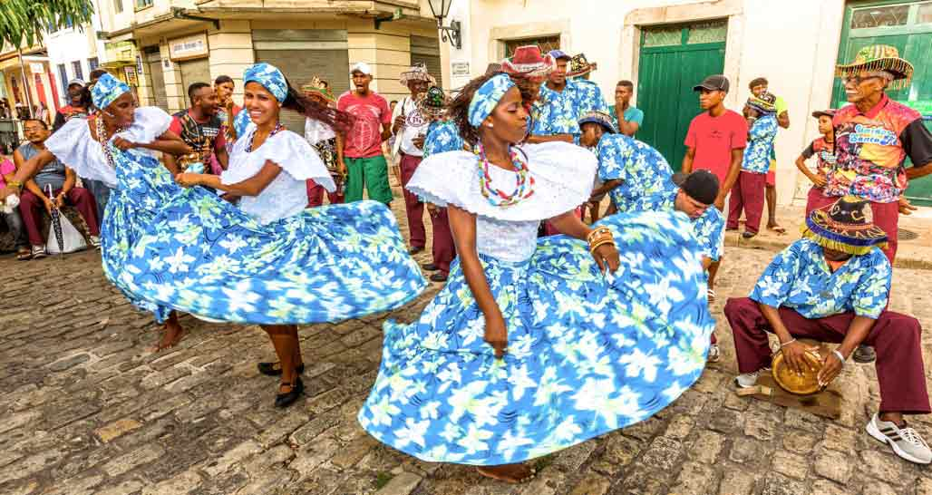 Dancers in Sao Luis