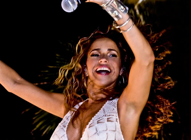 Daniela Mercury, born in Salvador