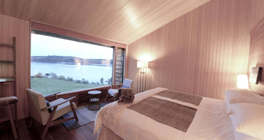 Tierra Chiloe - Bedroom with view