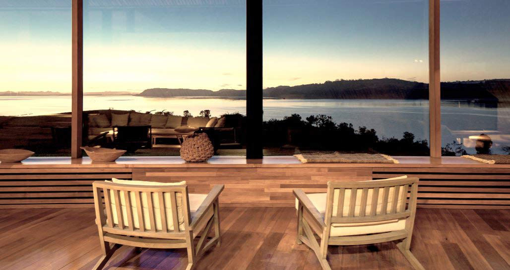 Tierra Chiloe - View from lounge