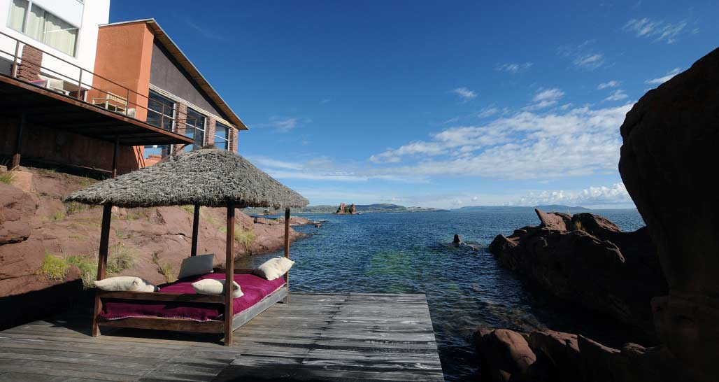 Titilaka - on the shore of Lake Titicaca