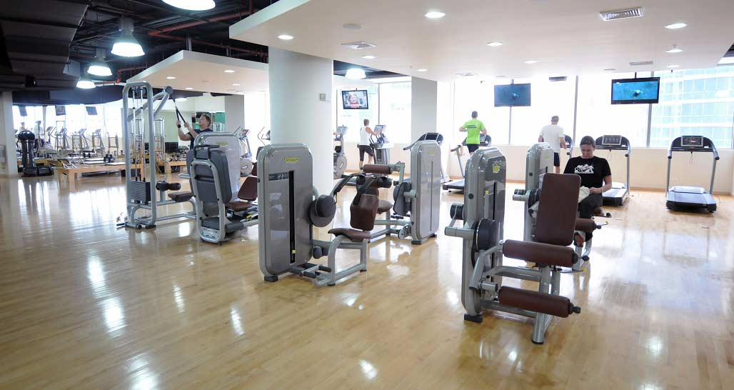 Trump Ocean Club, Panama - gym